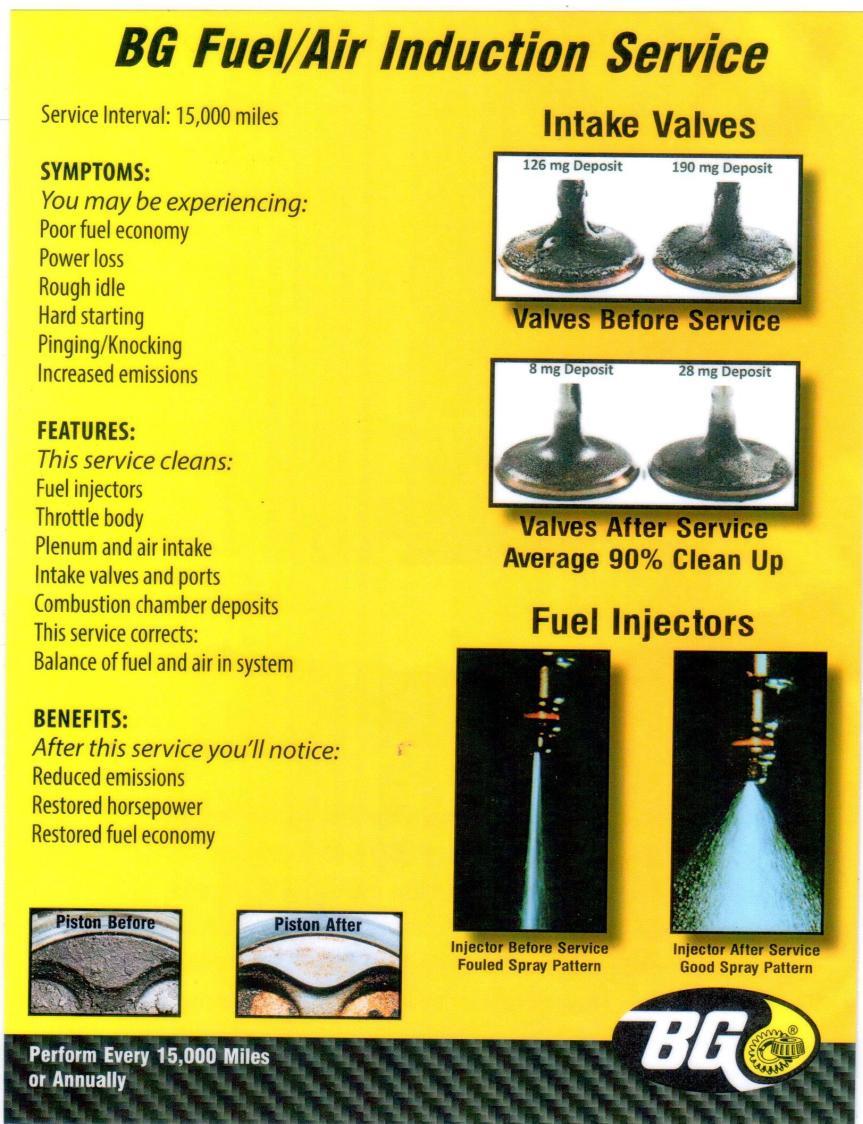 bg fuel air induction service. Black Bedroom Furniture Sets. Home Design Ideas